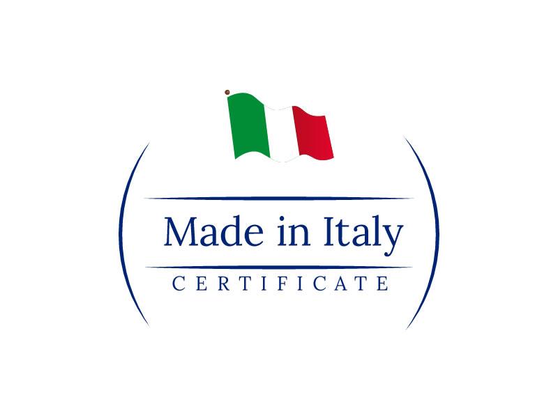 Certificazione 100 made in italy for Made com italia